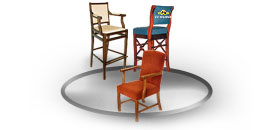 Wooden frame chairs (WB)